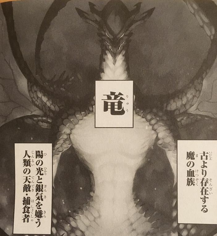 人類の天敵・捕食者、魔の血族である竜